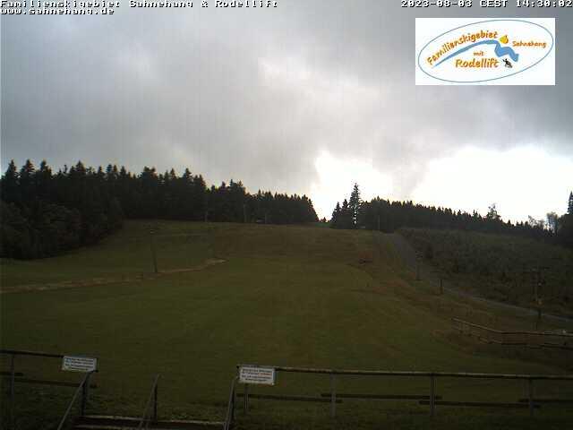 Familienskigebiet Sahnehang - Webcam 1